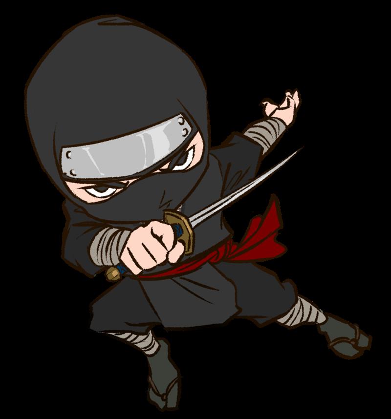 Japanese ninja clipart 7