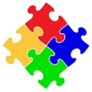 Puzzle piece clip art 2