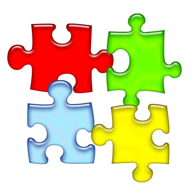 Puzzle piece clip art free 2