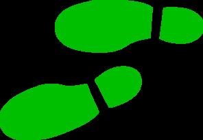 Shoe print clip art at vector clip art