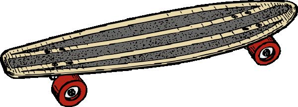 Skateboard 2 clip art at vector clip art