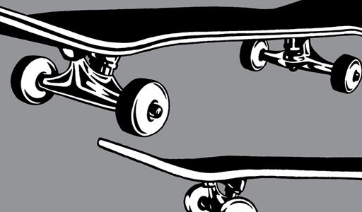 Skateboard clipart vector pack vector genius 2