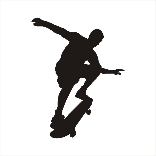 Skateboard latest news clipart