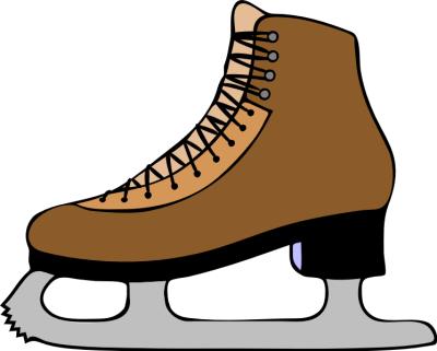 Skating skate clip art