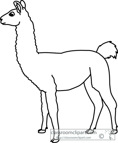 llama clipart item 5 free clipart images image 20464