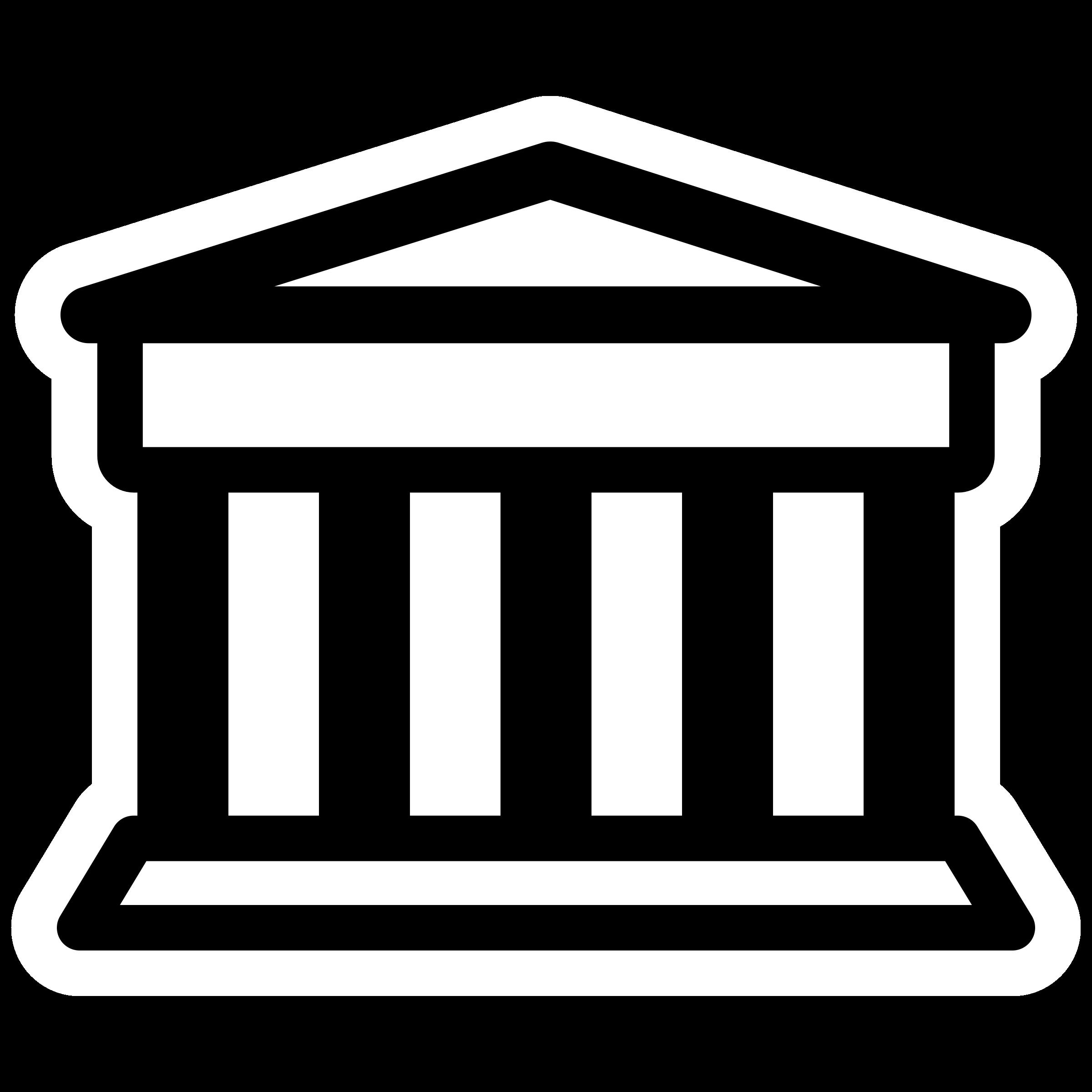 Clipart mono bank