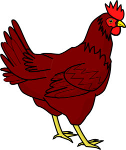 Cute hen clipart free clipart images 2