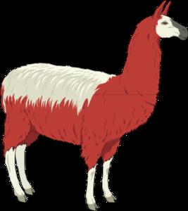 Llama 2 clip art at vector clip art