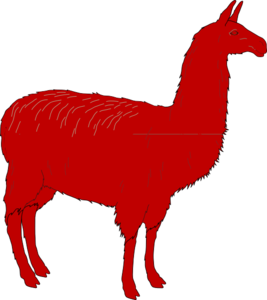 Llama clip art at vector clip art free 2