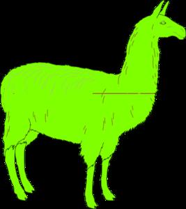 Llama clip art at vector clip art free 3
