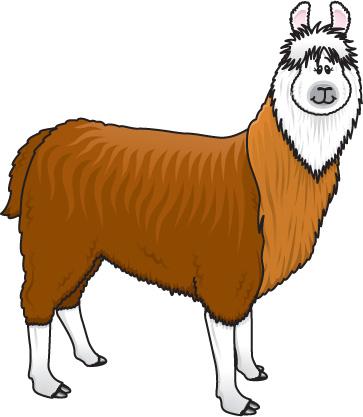 Llama clipart clipart