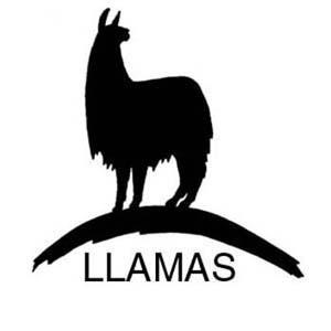 Llama outline clipart