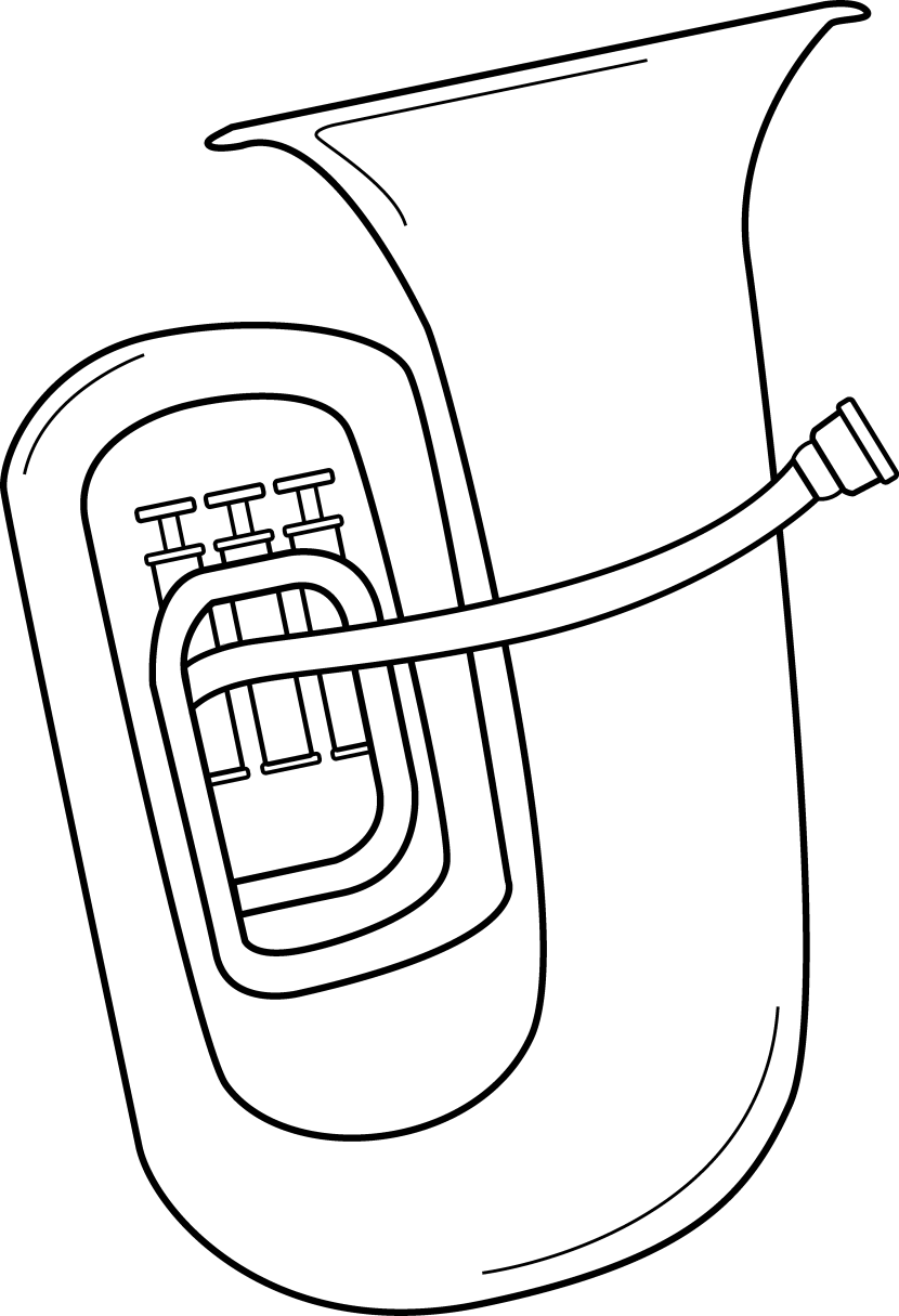 Tuba clipart 3