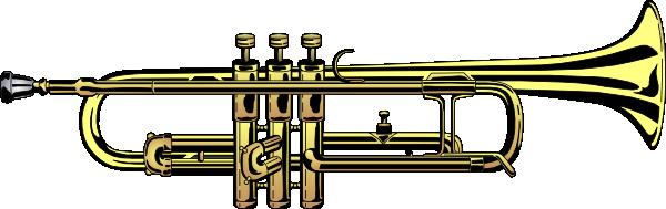 Tuba trumpet clip art at vector clip art