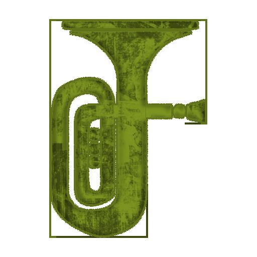 Tuba tubas icon icons etc clipart image #20244