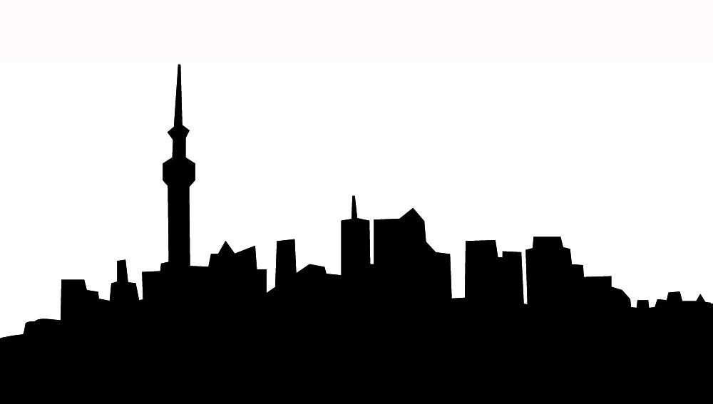 Cityscape city skyline clipart 4 city skyline clip art free