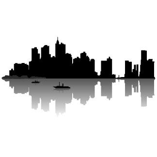 Cityscape city skyline clipart building clipart