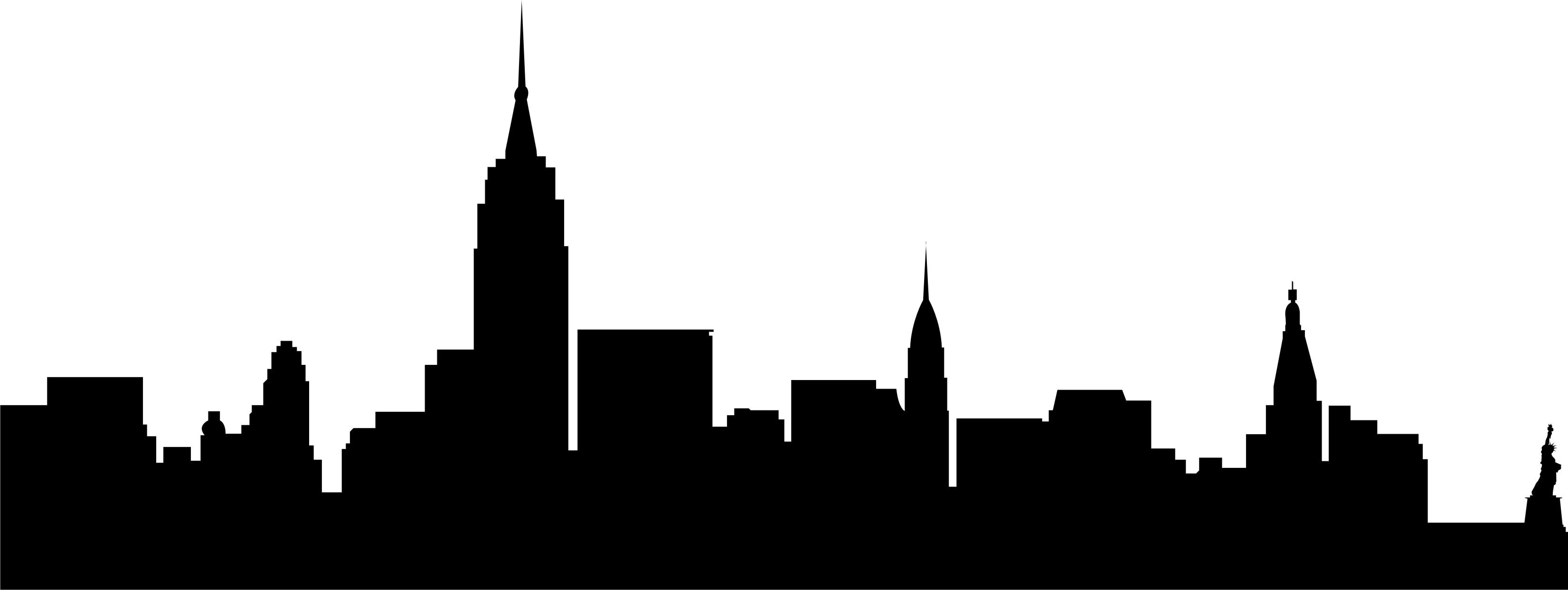 Cityscape city skyline outline clipart