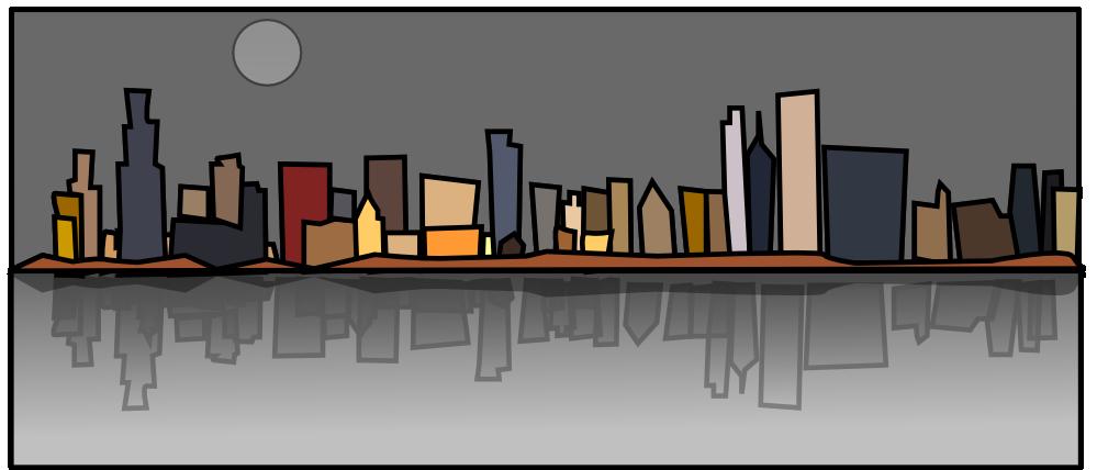 Cityscape clipart 2