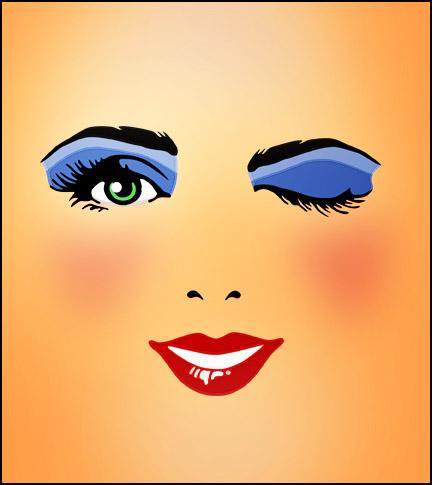 Eye wink clip art images 2