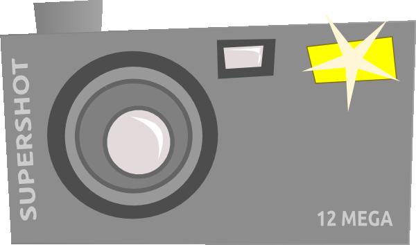 Flash camera clip art at vector clip art