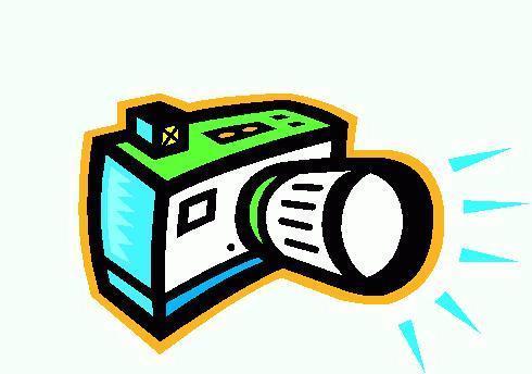 Flash camera clip art free