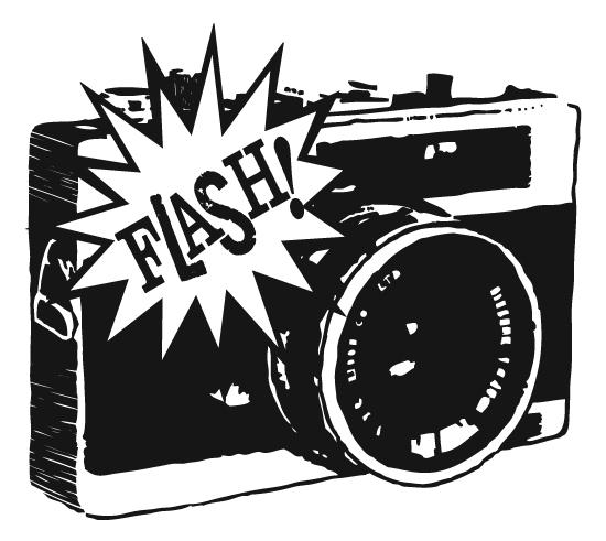 Flash click  clipart
