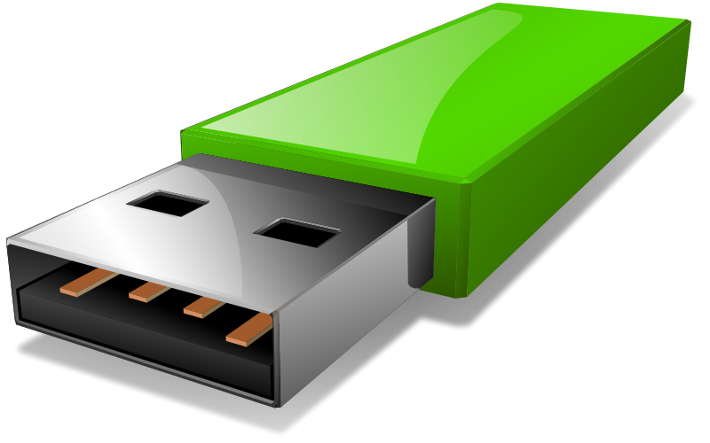 Flash drive clip art  2
