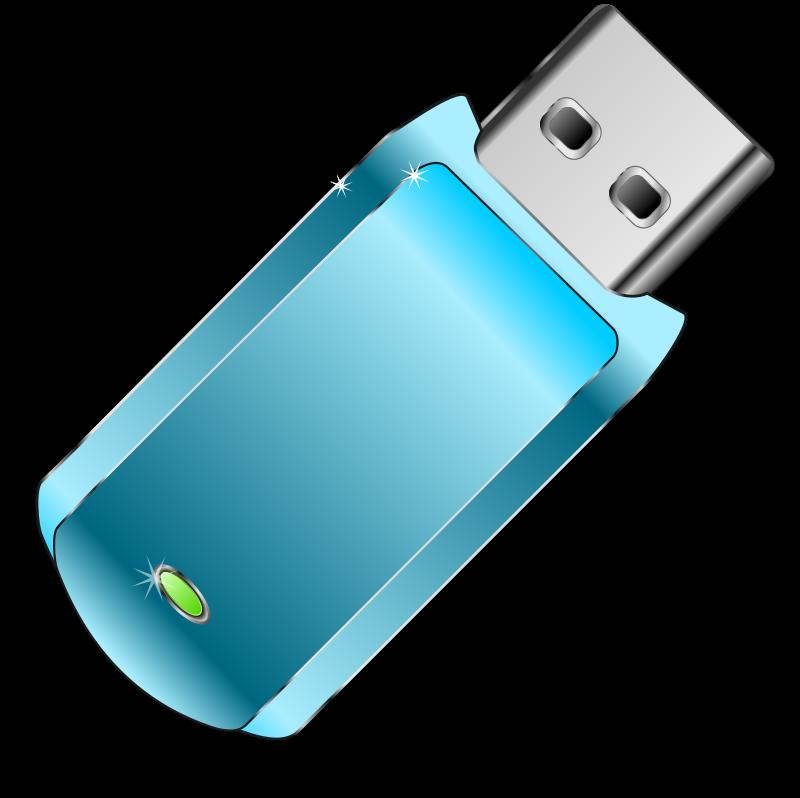 Flash drive clip art