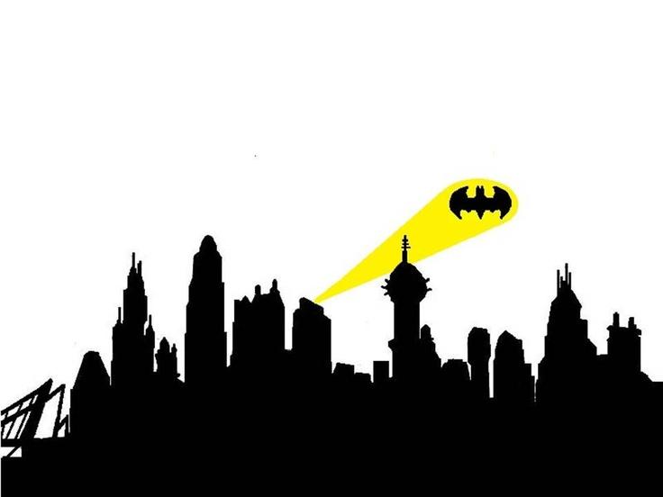 Gotham cityscape clipart