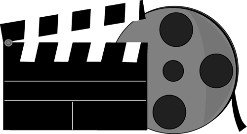 Movie reel clipart border free clipart images