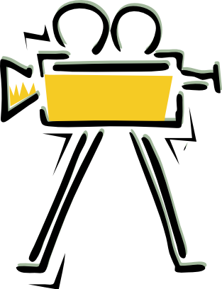 Movie reel clipart clipart 4