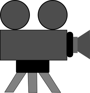 Movie reel clipart clipart