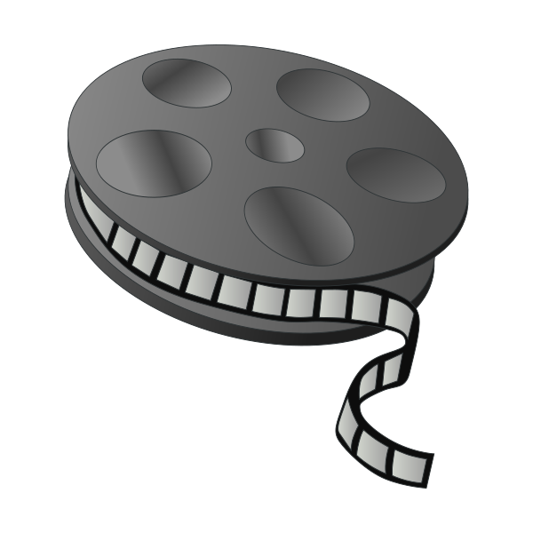 Movie reel clipart free clipart images