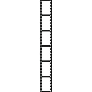 Movie reel film reel border clipart