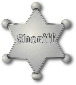 Sheriff badge clip art download