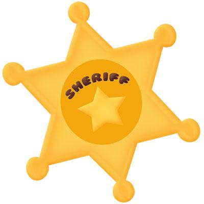Sheriff badge cutting files sheriff badge cutting files 0 clipart