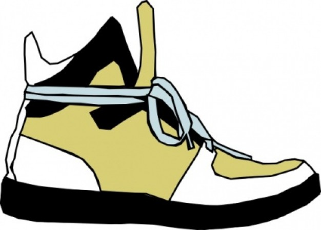 Shoes sneaker clip art free clipart images