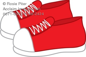 Sneaker 6 2 3 4 clip art