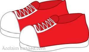 Sneaker description clip art of a free clipart images
