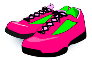 Sneaker shoes clip clipart