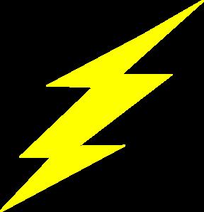 Straight flash bolt clip art at vector clip art