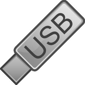 Usb flash drive icon clip art at vector clip art