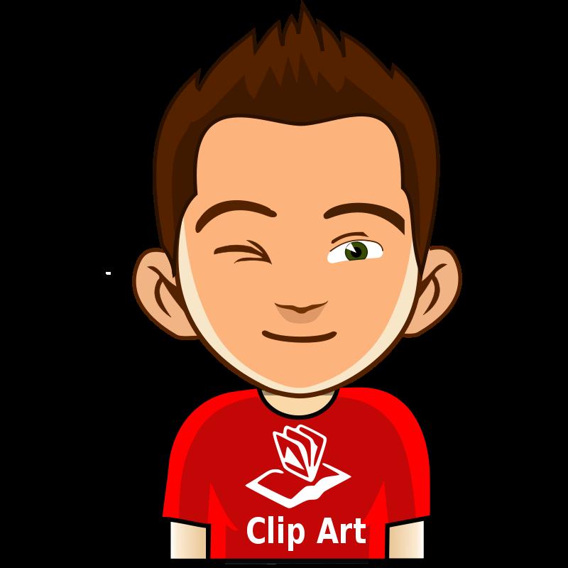 Winkboy clipart