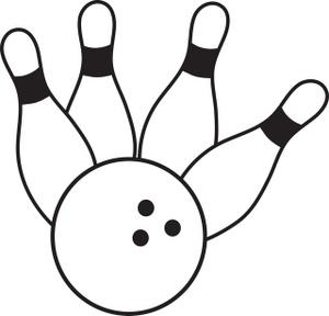 Bowling ball bowling clip art 2