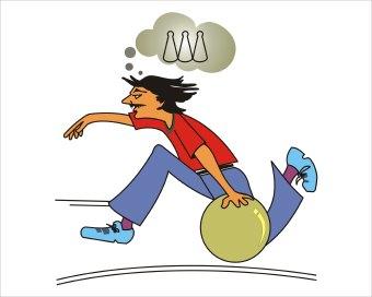 Bowling ball bowling clip art 3