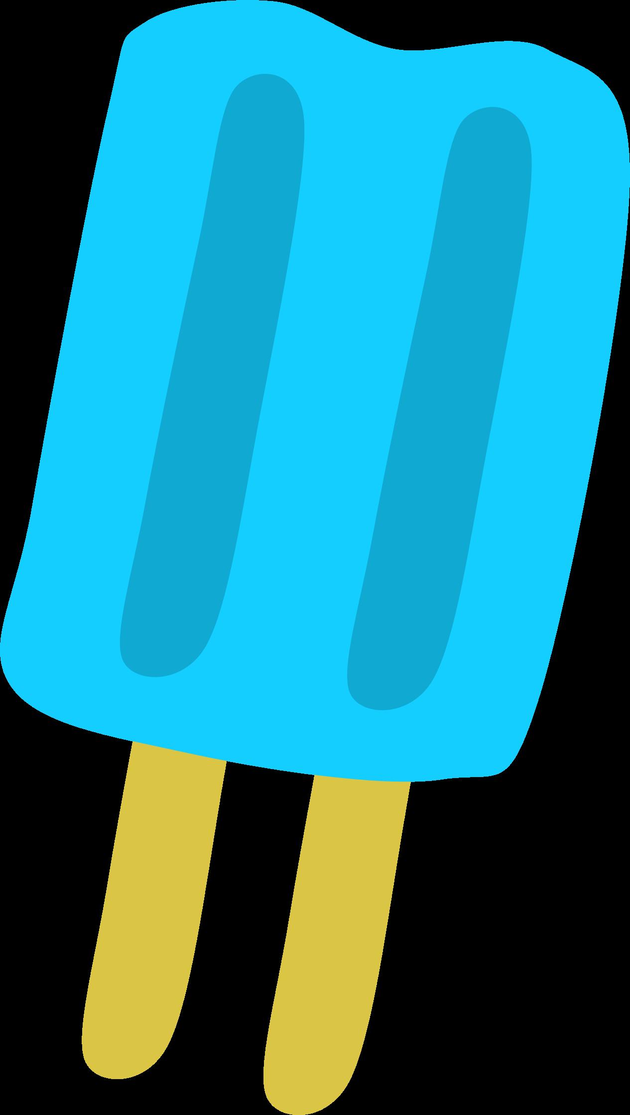 Clipart blue popsicle