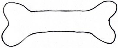 Dog bone clipart clipart