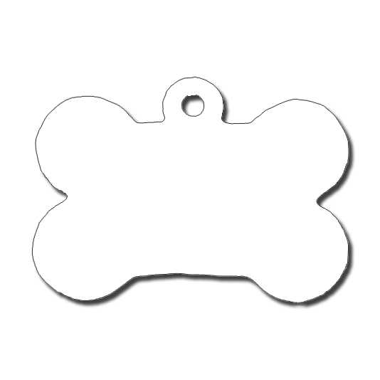 Dog bone tag clipart