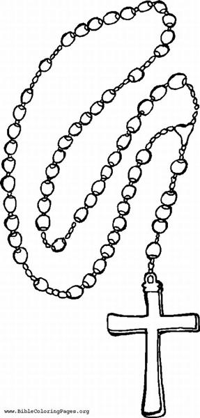 free coloring pages of our lady of the rosary clipart image #21528
